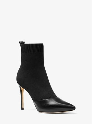Michael Kors Ankle & Booties Casual Style Plain Pin Heels Ankle & Booties Boots 3