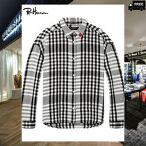 Ron Herman Other Check Patterns Casual Style Long Sleeves Cotton Medium