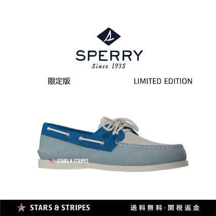 Suede Street Style Deck Shoes Special Edition