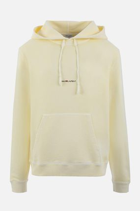 Saint Laurent Hoodies Pullovers Street Style Long Sleeves Plain Cotton Hoodies 5