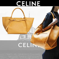 CELINE A4 Plain Leather Totes