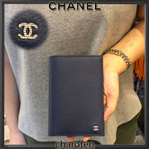 CHANEL ICON Unisex Passport Cases