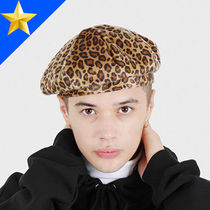 PIECEMAKER Unisex Street Style Beret & Hunting Hats