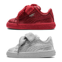 PUMA BASKET HEART Baby Girl Shoes