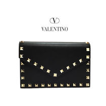 VALENTINO 2WAY Leather Shoulder Bags