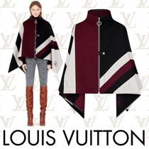 Louis Vuitton Short Stripes Wool Bold Ponchos & Capes