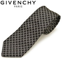 GIVENCHY Other Check Patterns Silk Ties