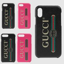 GUCCI Street Style Smart Phone Cases