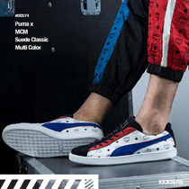 PUMA SUEDE Street Style Collaboration Sneakers