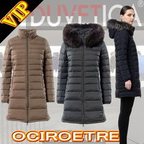 DUVETICA ociroetre Fur Plain Medium Down Jackets