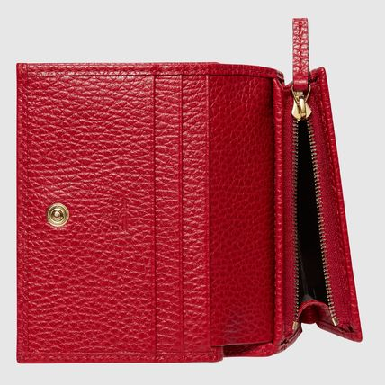 GUCCI Card Holders Plain Leather Card Holders 8