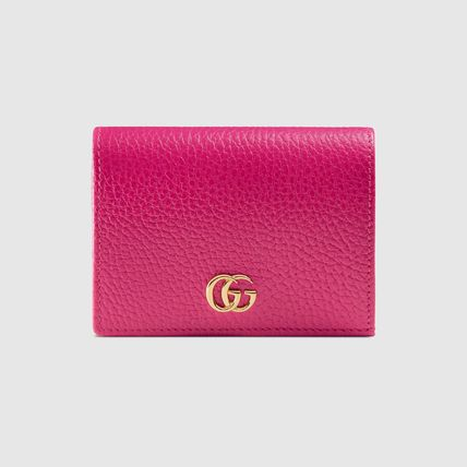 GUCCI Card Holders Plain Leather Card Holders 10