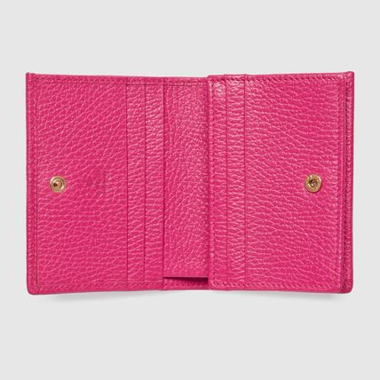 GUCCI Card Holders Plain Leather Card Holders 11