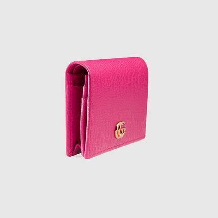 GUCCI Card Holders Plain Leather Card Holders 12