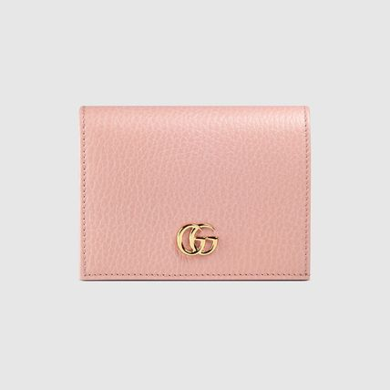 GUCCI Card Holders Plain Leather Card Holders 14