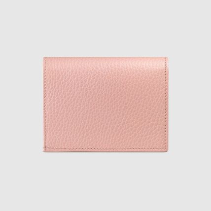 GUCCI Card Holders Plain Leather Card Holders 16