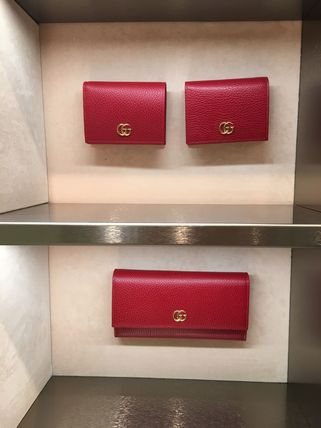 GUCCI Card Holders Plain Leather Card Holders 18