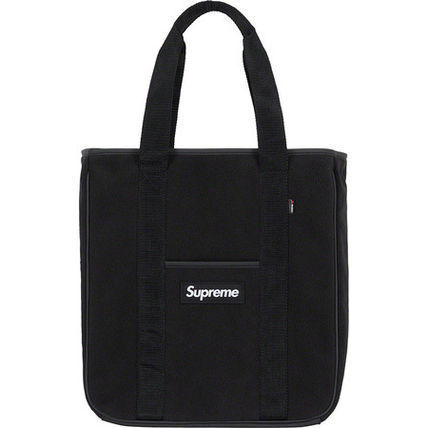 Supreme Totes Unisex Blended Fabrics Street Style A4 Totes 4