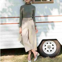 Casual Style Plain Culottes & Gaucho Pants