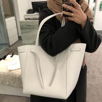 CELINE Cabas Phantom Leather Totes