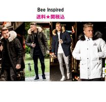 Bee Inspired Clothing Faux Fur Blended Fabrics Street Style Plain Long