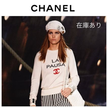 Chanel 2019 Cruise Unisex Long Sleeves Sweaters By Viiiii0119 Buyma