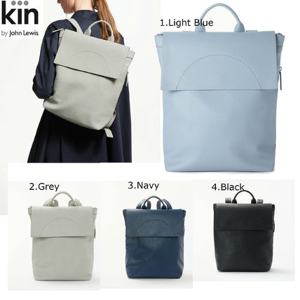 Collaboration Plain Office Style Backpacks
