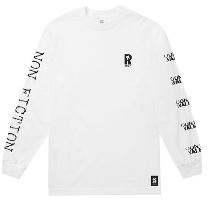HUF Long Sleeve Crew Neck Unisex Street Style Collaboration Long Sleeves 2