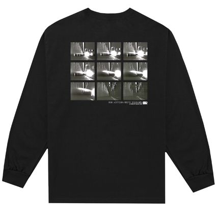 HUF Long Sleeve Crew Neck Unisex Street Style Collaboration Long Sleeves 5