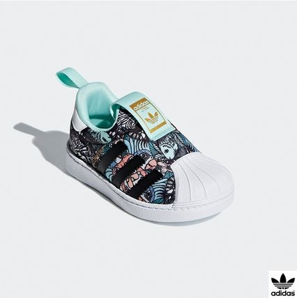 outlet store f8517 b229a adidas SUPERSTAR Baby Girl Shoes (B75616)