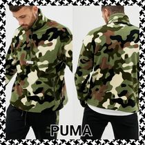 PUMA Camouflage Long Sleeves Tops
