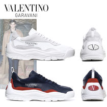 VALENTINO Fur Studded Plain Special Edition Sneakers
