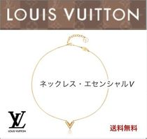 Louis Vuitton V Elegant Style Necklaces & Pendants