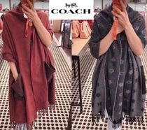 Coach Wool Heavy Scarves & Shawls