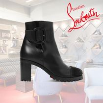 Christian Louboutin Casual Style Street Style Plain Leather