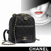 CHANEL Calfskin Backpacks