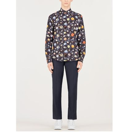 Louis Vuitton Shirts Button-down Star Street Style Long Sleeves Cotton Shirts 3