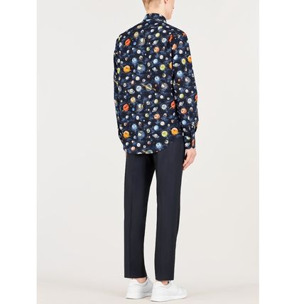 Louis Vuitton Shirts Button-down Star Street Style Long Sleeves Cotton Shirts 4