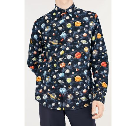 Louis Vuitton Shirts Button-down Star Street Style Long Sleeves Cotton Shirts 5