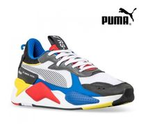 PUMA Camouflage Unisex Street Style Sneakers