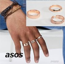 ASOS Street Style Silver Rings