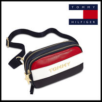 Tommy Hilfiger Star Casual Style Canvas Street Style 2WAY Plain