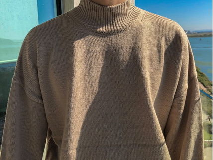 ASCLO Knits & Sweaters Street Style Collaboration Long Sleeves Plain 5