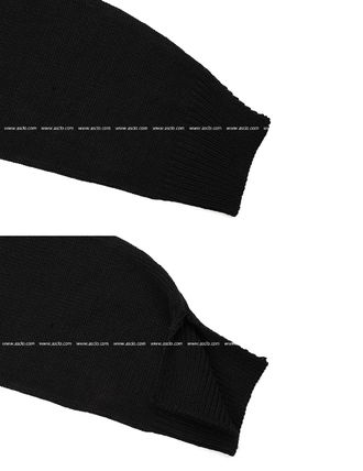 ASCLO Knits & Sweaters Street Style Collaboration Long Sleeves Plain 11