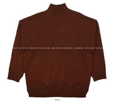 ASCLO Knits & Sweaters Street Style Collaboration Long Sleeves Plain 14