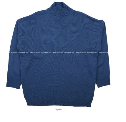 ASCLO Knits & Sweaters Street Style Collaboration Long Sleeves Plain 15