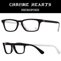 CHROME HEARTS Unisex Square Optical Eyewear