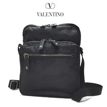 VALENTINO Camouflage Canvas Messenger & Shoulder Bags