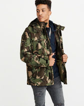Abercrombie & Fitch Camouflage Jackets