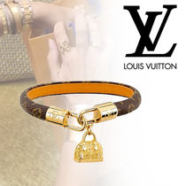 Louis Vuitton ALMA Costume Jewelry Blended Fabrics Street Style Leather
